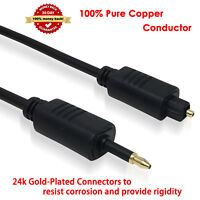 S/PDIF Fiber Optic Cord Mini Toslink Cable for MacBook Pro, Mac Pro/Mini, iMac