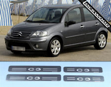 Citroen C3 MK1 Stainless Sill Protectors / Kick Plates (NOT GRAND PICASSO)
