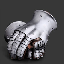 Medieval Knight Armour Gloves Warrior Gauntlets Combat Gauntlet Metal Hand Glove
