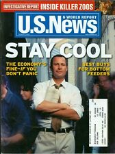 2002 U.S. News & World Report Magazine: Stay Cool - The Economy is Fine If you D