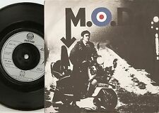 M.O.D. M.O.D. 45+PS 1979 SCARCE MOD REVIVAL RELEASE D ESSEX JAM QUADROPHENIA WHO