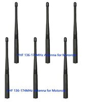 6pcs VHF 136-174MHz Antenna For Motorola XTS1500 XTS2500 XTS3000 HT1000 MT2000