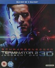 Terminator 2 3d 2d Blu-ray UK BLURAY