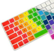 Rainbow  Silicone keyboard Skin Cover for Magic Keyboard MLA22LL/A  US ENGLISH