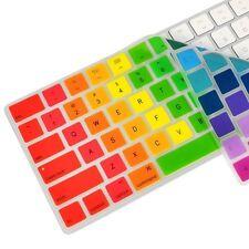Rainbow  Silicone keyboard Skin Cover for Magic Keyboard MLA22LL/A  US ENGLISH