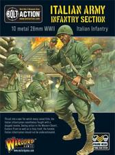 Bolt Action WWII Italian Army Section metal Warlord Games