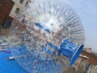 2.8*2.0M  Inflatable Zorb Ball Zorbing Human Hamster Ball PVC1.0 MM  Blowers X1