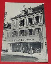 CPA CARTE POSTALE FRANCE 1910-1920 MAGASIN VETEMENTS CHABENAT DEPRUNEAUX