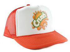Orange Crush soda Trucker Hat mesh hat snapback hat orange