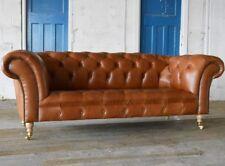 Design Sofa Chesterfield Luxus Klass Couch Polster Garnitur Leder Textil Neu 104
