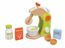 Lelin Wooden Doll House Cooking Appliance Food Mixer Childrens Pretend Play Toys