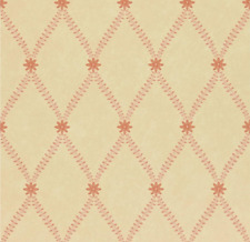 FLW06006 Red/Gold Wallpaper Zoffany STARFLOWER  AA1358