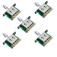 5*Electric Guitar 5Way Blade Selector Switches For Fender Strat Tele replacement