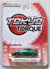 Greenlight 2018 Tokyo Torque Séries 2 2015 Nissan Gt-R (R35) Vert Machine