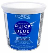 Loreal Quick Blue Extra Strength Bleach Powder Tub 1LB (Package May Vary)