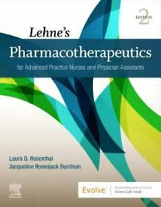 Lehne's Pharmacotherapeutics for Advanced Practice Nurses and Physician