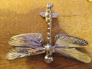 DRAGONFLY DOOR KNOCKER NICKEL PLATED ON BRASS COX AND COX NUMBER 1521877