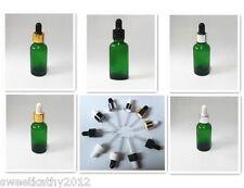 Wholesale 264pcs 1oz 30ml Green Glass Dropper Bottlesvials With Eye Dropper Cap
