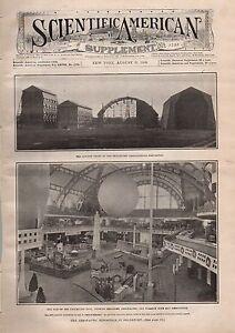 1909 Scientific American Supp August 21-Ancient marble; Aeronautic Exposition