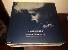 "ANNE CLARK - TERRA INCOGNITA 12"" LP UK SYNTH POP OUR DARKNESS SLEEPER METROPOLIS"