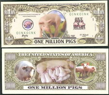Lot of 25 Bills - One Million Pigs - Oink Oink!