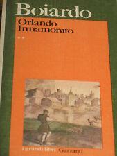 MARIA MATTEO BOIARDO - ORLANDO INNAMORATO 1978 PRIMA EDIZIONE