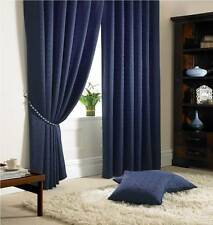 """Madison Curtains 3"""" Pencil Pleat, Lined Curtains,Tie-Backs Included. 11 Colours,"""
