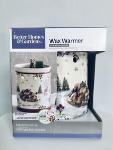 Better Homes & Gardens Full Size Warmer Bear Holiday Heritage Collection Gift