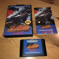 Good Condition SOL-DEACE for Sega Genesis AUTHENTIC Complete CIB NTSC US Shooter