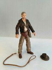 "MINT Indiana Jones 1/18 action figure 2007 3.5"" Hasbro KOTCS w/ removeable hat !"