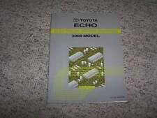 2000 Toyota Echo Electrical Wiring Diagram Manual 1.5L 4Cyl