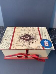 Harry Potter - Primark - Marauder's Map Scented Candle in gift box - Brand New