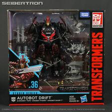 DRIFT + DINOBOTS Transformers Studio Series 36 Deluxe Last Knight TLK 2019 NEW