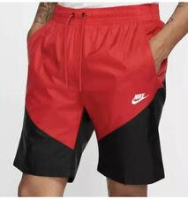 Nike NSW Windrunner Men's Track Shorts Size M (Gym Red/Black) (AR2424-657)