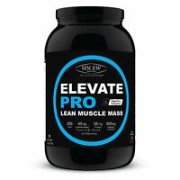 Sinew Nutrition Elevate Pro Lean Muscle Mass Gainer Protein 1kg Rich Chocolate