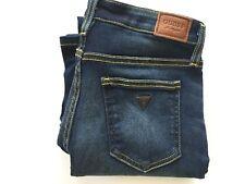 Guess Women's BootCut Jeans Indigo Super Stretch Denim Size 26