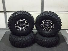"YAMAHA GRIZZLY 550  27"" QUADKING ATV TIRE & RAPTOR WHEEL KIT IRS1CA BIGGHORN"