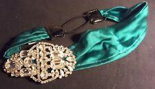 Jennifer Behr headband Victorian Crystall Brooch [wedding tiara headpiece]