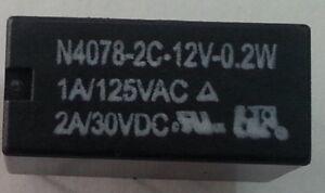 RELE' DIL DOPPIO SCAMBIO 12 V - 1 A Componenti Elettronici