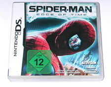 "Nintendo DS juego ""Spider-Man Edge of Time Spiderman"" Deutsch/embalaje original"