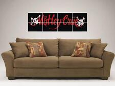 "MOTLEY CRUE MOSAIC TILE 48"" BY 16"" INCH WALL POSTER TOMMY LEE NIKKI SIXX"