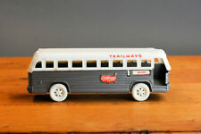 #Antique Platic Toy# IDEAL USA Continental Traiways Passenger Coach Bus Boston