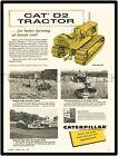 "1956 CATERPILLAR CAT D2 TRACTOR AD 9"" x 12"" ALUMINUM Sign"