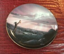 """""""Blessing The Future"""" Plate By Bil Jaxon (Guigance From Abov) Third Issue COA"""