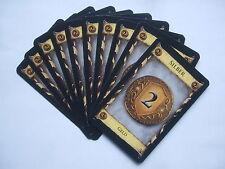 Dominion: 10 x Silber - Ersatzkarten, Ersatz, Karten, Spiel des Jahres 2009