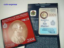 *** 2 EURO Gedenkmünze SAN MARINO 2004 Bartolomeo Borghesi Münze Coin KMS ***