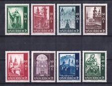 AUSTRIA 1948, Salzburger Dom (Cathedral). Complete Set (8 Values). MNH / XF !