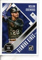 2018 DONRUSS NOLAN ARENADO DIAMOND KINGS
