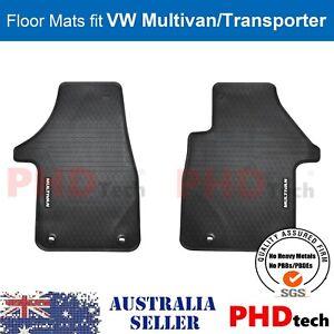 All Weather Rubber Car Floor Mats Multivan Transporter Carvelle 2003-2021