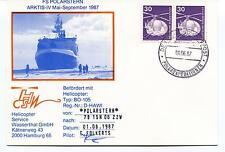 Polarstern Helicopter BO-105 Folkerts ARKTIS IV Polar Antarctic Cover SIGNED